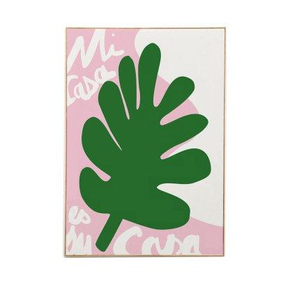 Mathilde Cabanas Poster Mi Casa-Bunt -listing