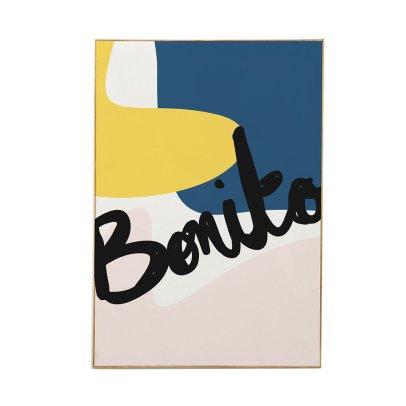 Mathilde Cabanas Affiche Bonito Multicoloured-listing