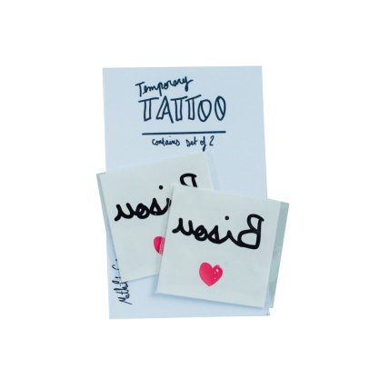 Mathilde Cabanas Tattoo Bisous - Set de 2 Multicolore-listing