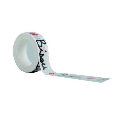 Mathilde Cabanas Masking tape Gros Bisous Multicolor-listing
