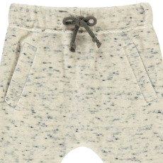 Milk on the Rocks Flecked Velour Peanut Sweatpants-listing