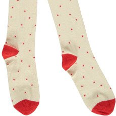Mini Rodini Black Polka Dot Organic Cotton Tights-listing