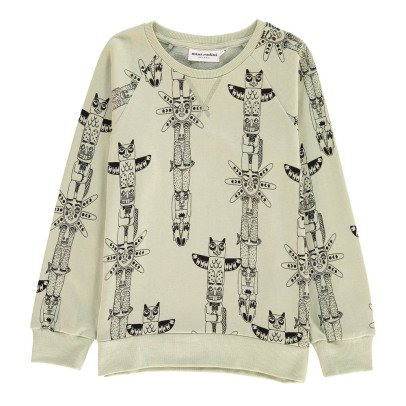 Mini Rodini Organic Cotton Totem Sweatshirt-listing