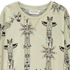 Mini Rodini Organic Cotton Totem Sweatshirt-listing