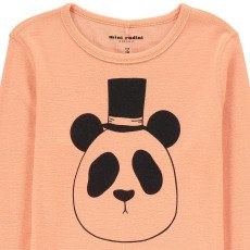 Mini Rodini Organic Merino Wool Panda Sweatshirt-listing
