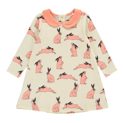 Mini Rodini Pink Bunnies Dress-listing