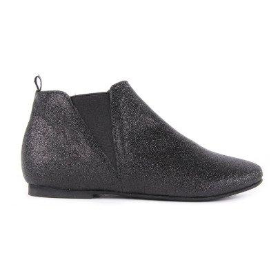 Manuela de Juan  Eloise Sequin Boots with Zip-listing