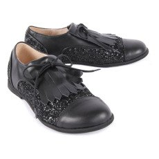Manuela de Juan  Diana Leather and Sequin Derbies-listing