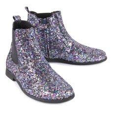 Manuela de Juan  Constance Sequin Chelsea Boots with Zip-listing