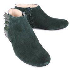 Manuela de Juan  Ingrid Suede Fringe Boots with Zip-listing