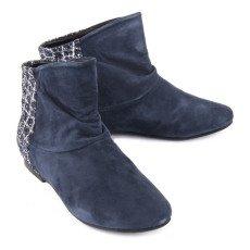 Manuela de Juan  Nikita Suede and Sequin Back Boots-listing