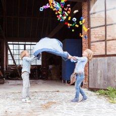 Play and Go Bolso/Alfombra de juego - Jean Azul -listing
