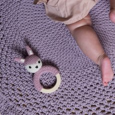 Sebra Crochet Rattle-product