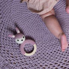Sebra Sonajero en crochet-listing