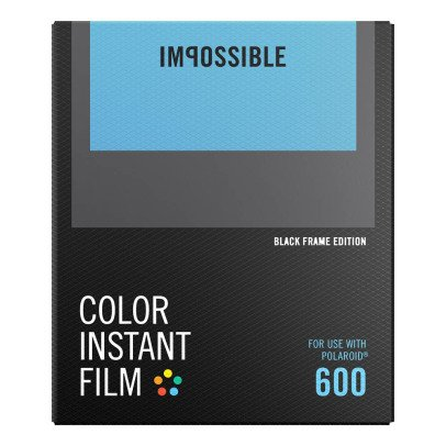 Impossible Project Color Film für 600 mit schwarzem Rand-listing
