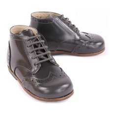 Little Mary Bottines Cuir Lord Gris anthracite-listing