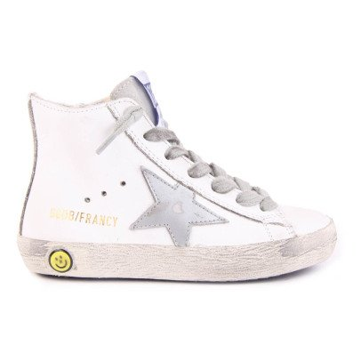 Golden Goose Francy Leather Trainers with Zip-listing
