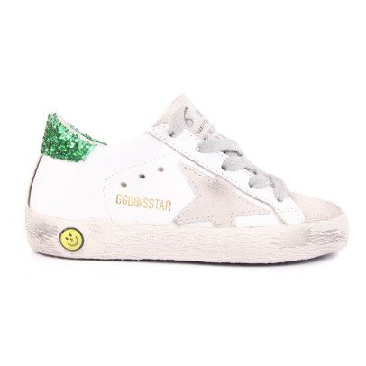 Golden Goose Zapatillas Cuero Paillettes Superstar-listing