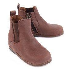 Little Mary Boots Chelsea Cuir Zippées Aron-listing