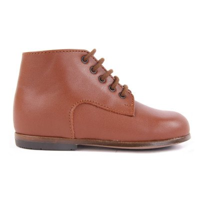 Little Mary Miloto Leather Ankle Boots Camel-listing