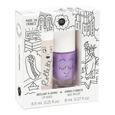Nailmatic Kids New York Nail Varnish and Roller Ball Duo-listing