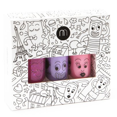 Nailmatic Kids City Set of 3 Nail Varnishes-listing