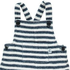 Il Gufo Striped Sweat Dungarees-listing