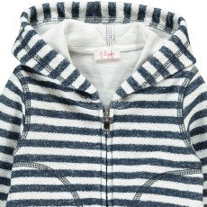 Il Gufo Striped Hoodie-product