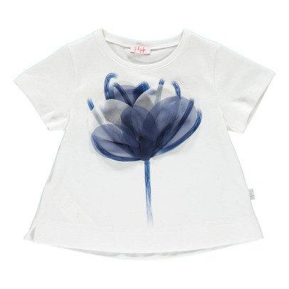 Il Gufo T-Shirt Blumenmuster-listing