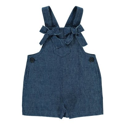 Il Gufo Striped Dungarees-listing