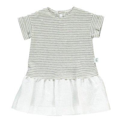 Il Gufo Striped Dress-listing