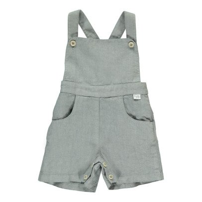 Il Gufo Linen Dungarees-listing