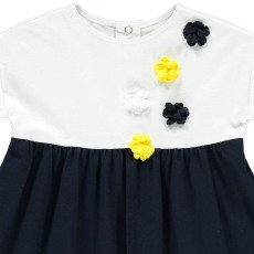 Il Gufo Floral Pompom Dress-listing
