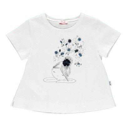 Il Gufo T-Shirt Blumen -listing