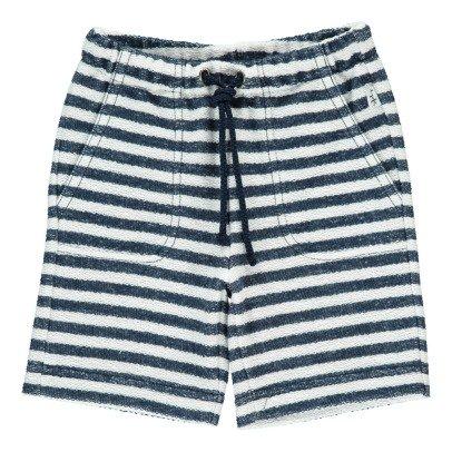 Il Gufo Striped Bermuda Shorts-listing