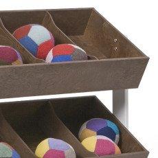 Oeuf NYC Storage unit - walnut-product