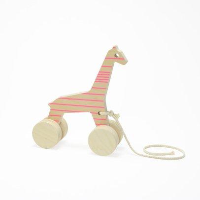 Studio delle alpi Girafe à tirer Sofia lignes Rose-listing