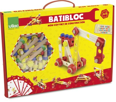 Vilac Batibloc Construction Kit Multicoloured-product