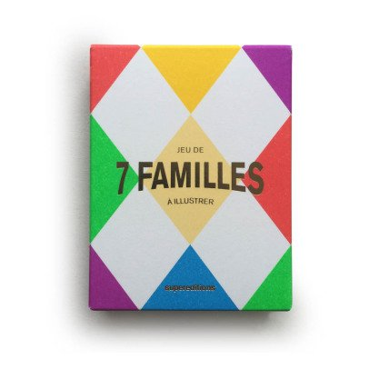 Supereditions 7 Families Drawing Game-listing