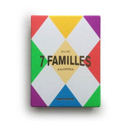 Supereditions Juego de las 7 familias a ilustrar-listing