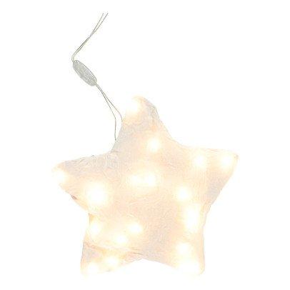 Fanni Chambas Lámpara estrella en lino-listing