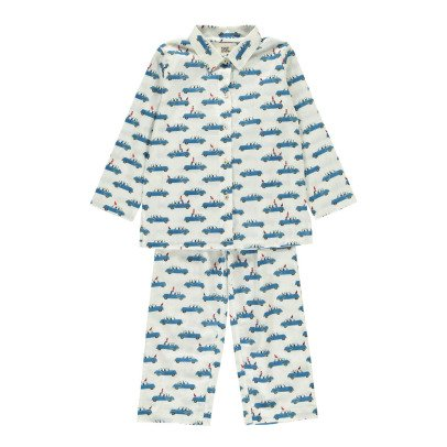 Le Petit Lucas du Tertre Pigiama Camicia e Pantaloni -listing