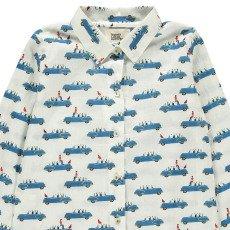 Le Petit Lucas du Tertre Pyjama Hemd + Hose Autos -listing