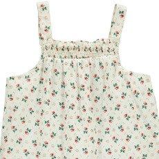 Le Petit Lucas du Tertre Pijama Top + Short Flores Lunares-listing