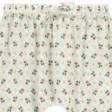 Le Petit Lucas du Tertre Polka Dot Floral Harem Trousers-listing