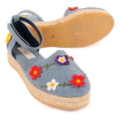 Stella McCartney Kids Espadrilles Fleurs Flora-listing