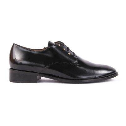 Emma Go Leather Petty Derby Shoes Noir-listing