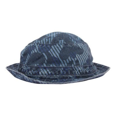 Stella McCartney Kids Dolores Camouflage Chambray Bucket Hat-product