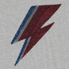 MAAN Mac Sequin Lightning T-Shirt-listing