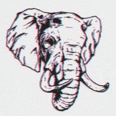 MAAN Camiseta Elefante Mac-listing
